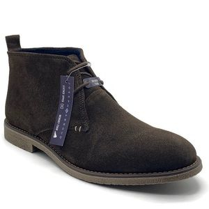 Joseph Abboud Brown Suede Lucca Suede Chukka Boot